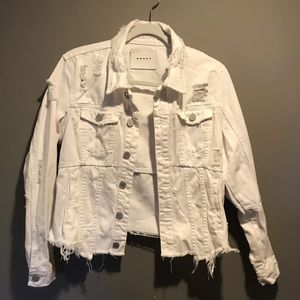 Blank NYC White Demmi Jacket